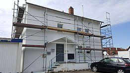 Fassadenarbeiten Malerteam Langenargen